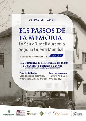 L'Espai Ermengol proposa per aquest setembre dues visites guiades sobre història i gastronomia i una ruta sobre climatologia
