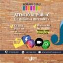 L'Oficina Jove de l'Alt Urgell reobre demà l'atenció al públic però amb cita prèvia
