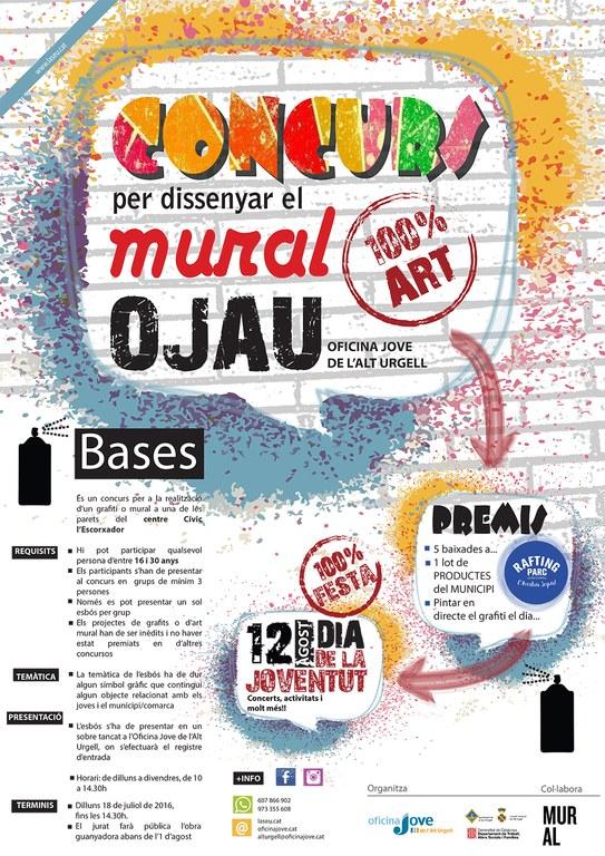 L oficina jove de l 39 alt urgell organitza un concurs mural for Oficina jove de treball