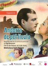 La Biblioteca Sant Agustí acull l'exposició de cartells 'Andorra de pel·lícula'