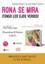 La Biblioteca Sant Agustí de la Seu acull la presentació del llibre 'Rona se mira' i el taller 'Mira't Bonic', inspirat en el conte