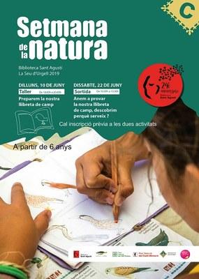 La Biblioteca Sant Agustí de la Seu d'Urgell proposa la 'Setmana de la Natura' adreçada a nens i nenes a partir de 6 anys