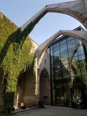 La Biblioteca Sant Agustí tanca portes aquest dissabte per obres de reforma i millora de les seves instal·lacions