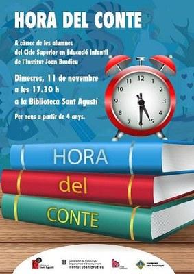 La Biblioteca Sant Agustí proposa dues hores del conte i la presentació d'un llibre