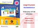 La Biblioteca Sant Agustí se suma al concurs 'Llegir té premi!'