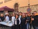 La confraria de Sant Antoni Abat de la Seu d'Urgell present a la 7a Trobada de Calderers celebrada a Capmany