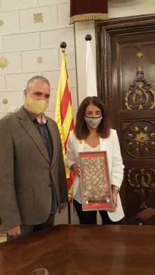 La Consellera de Presidència, Meritxell Budó, visita l'Ajuntament de la Seu d'Urgell
