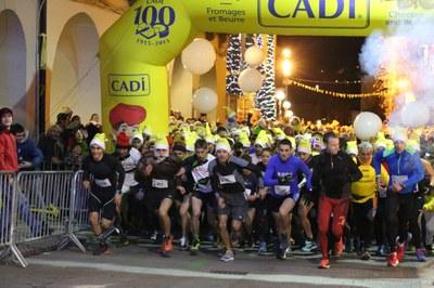 L'onzena cursa Sant Silvestre de la Seu d'Urgell presenta un vessant solidari