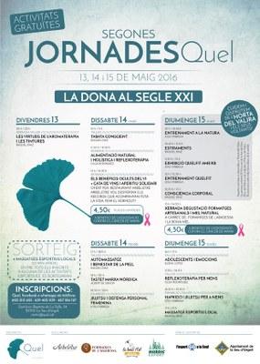 'La dona al segle XXI', segones Jornades Quel a la Seu d'Urgell sobre benestar i salut