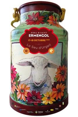 La Fira de Sant Ermengol 2020 s'adapta amb una fira de formatges artesans del Pirineu i de productes alimentaris de proximitat al passeig Joan Brudieu