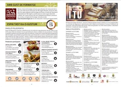 La Fira Sant Ermengol potencia els productors agroalimentaris de l'Alt Urgell amb degustacions i mostres culinàries