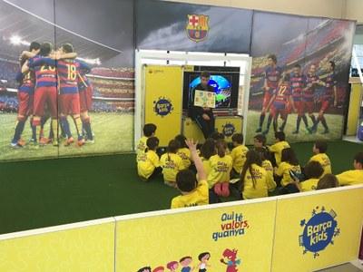 La Fundació del FC Barcelona porta a la Seu d'Urgell el seu projecte BarçaKids