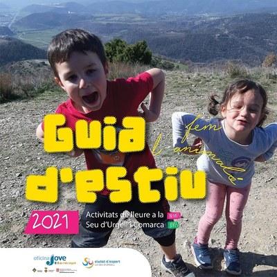 La Guia d'Estiu 2021 ofereix 38 activitats de lleure, esportives, a la natura i d'aigua per a infants i joves de la Seu d'Urgell i comarca