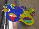La instal·lació de 80 màscares gegants als carrers, novetat de la celebració de carnaval a la Seu d'Urgell