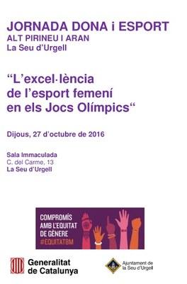 La Jornada Dona i Esport Alt Pirineu i Aran analitzarà l'evolució femenina catalana als Jocs Olímpics
