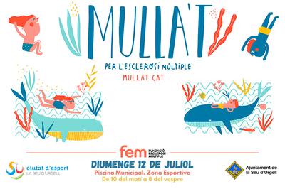 La piscina municipal de la Seu d'Urgell, solidària amb la jornada 'Mulla't per l'esclerosi múltiple'