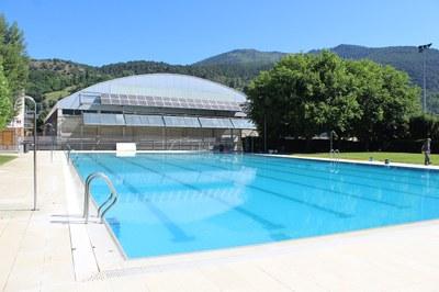 La piscina municipal obre al públic aquest divendres amb una jornada de portes obertes