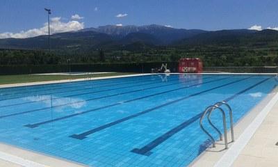 La piscina municipal obre demà dissabte amb una jornada de portes obertes