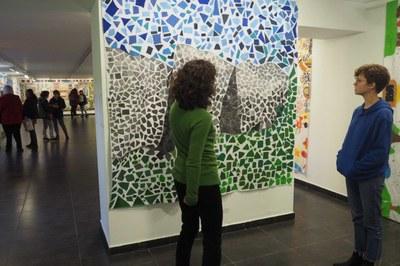 La sala 'La Cuina' acull el 7è Mural Col·lectiu de Pintura