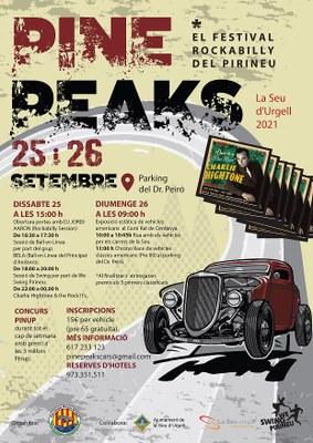 La Seu acollirà la segona edició de Pine Peaks, el festival rockabilly del Pirineu
