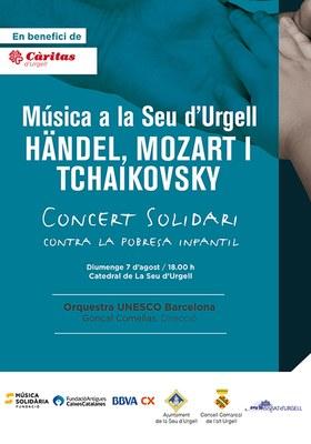 """La Seu acull el concert solidari """"Música contra la pobresa infantil"""""""