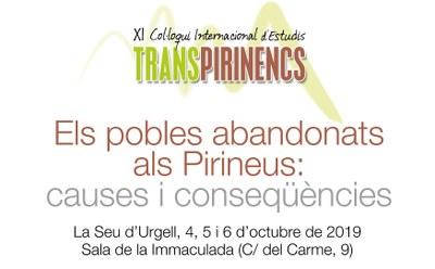 La Seu d'Urgell acollirà l'11è Col·loqui Internacional d'Estudis Transpirinencs