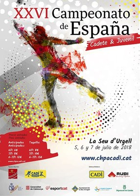 La Seu d'Urgell acull el Campionat d'Espanya de Patinatge Artístic cadet i juvenil amb la participació de 115 patinadors