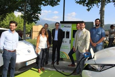 La Seu d'Urgell aposta per la transició cap al vehicle elèctric