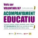 La Seu d'Urgell busca persones voluntàries per al projecte d'acompanyament educatiu per aquest curs 2020-21