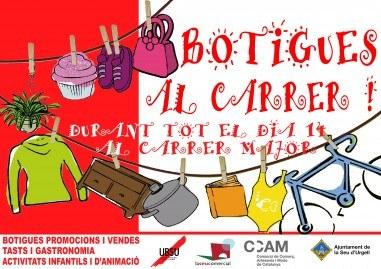La Seu d'Urgell celebra la primera edició de 'Botigues al carrer'