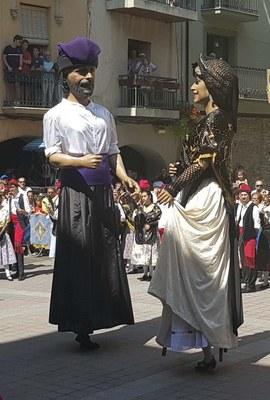 La Seu d'Urgell celebrarà un Ball Cerdà de gegants sense públic presencial