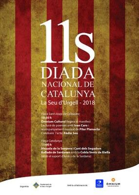 La Seu d'Urgell commemora la Diada Nacional de Catalunya