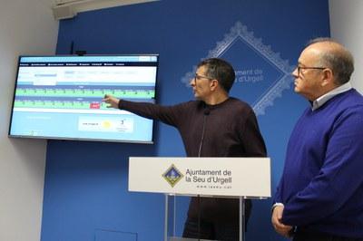 La Seu d'Urgell estrena un nou sistema per reservar on-line les diferents instal·lacions esportives municipals