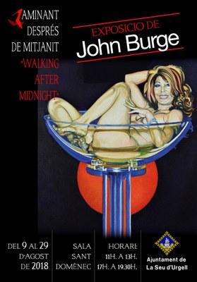 La Seu d'Urgell estrena una exposició del pintor australià John Burge