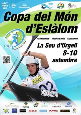 La Seu d'Urgell ho té tot a punt per a la final de la Copa del Món de canoa eslàlom