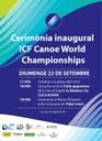 La Seu d'Urgell ho té tot a punt per celebrar la inauguració del Campionat del Món de Piragüisme