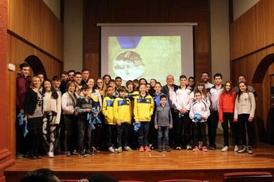 La Seu d'Urgell homenatja 39 esportistes de la ciutat pels èxits obtinguts durant l'any 2017