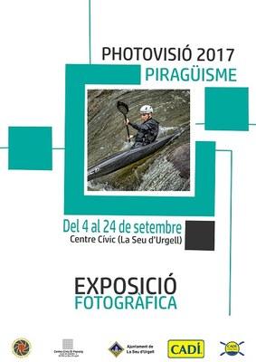 La Seu d'Urgell inaugura 'Photovisió 2017', exposició fotogràfica dedicada a la pràctica del piragüisme
