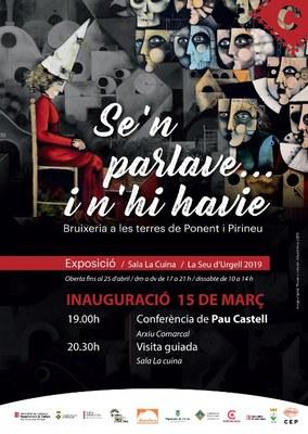 La Seu d'Urgell inaugura l'exposició 'Se'n parlava... i n'hi havie. Bruixeria a les Terres de Ponent i Pirineu'