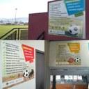 La Seu d'Urgell instal·la panells amb consells de comportament adreçats a públic i a esportistes en les competicions esportives