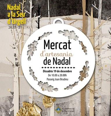 La Seu d'Urgell organitza un Mercat de Nadal amb una quinzena de parades d'artesania del Pirineu