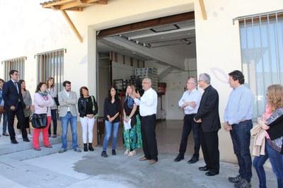 La Seu d'Urgell posa en marxa el nou centre de distribució del projecte Aliments per la Solidaritat