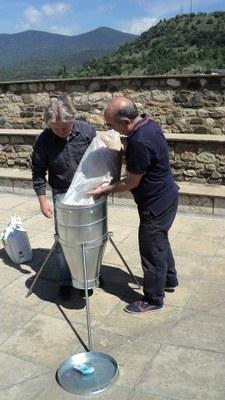 La Seu d'Urgell redueix en cinc anys gairebé la meitat la seva població de coloms