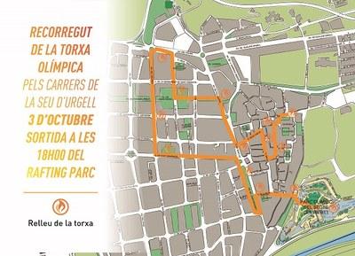 La Seu d'Urgell rep la torxa dels Jocs Special Olympics