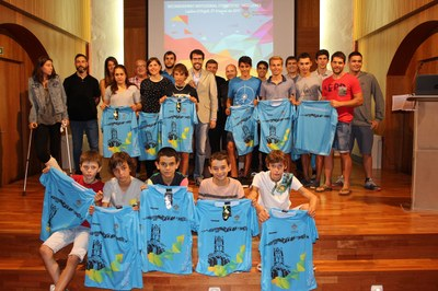 La Seu d'Urgell ret un homenatge de reconeixement a 19 esportistes i 2 clubs urgellencs
