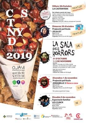 La Seu d'Urgell té preparades diverses activitats al voltant de la celebració de la Castanyada