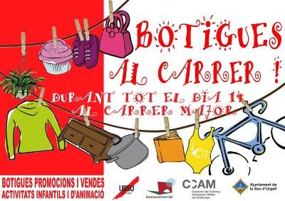 La Seu d'Urgell torna a posar les 'botigues al carrer'