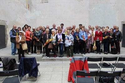 La Seu d'Urgell viu la Diada de Sant Jordi amb lectures en veu alta i signatura de llibres d'autors locals