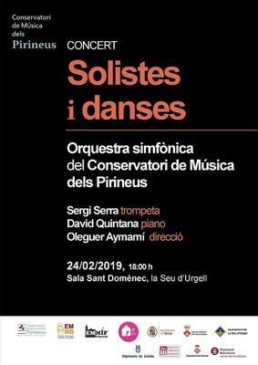 La Seu d'Urgell acull el concert simfònic de l'Orquestra del Conservatori de Música dels Pirineus