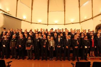 La Seu d'Urgell acull la celebració del Dia de les Esquadres de la Regió Policial Pirineu Occidental